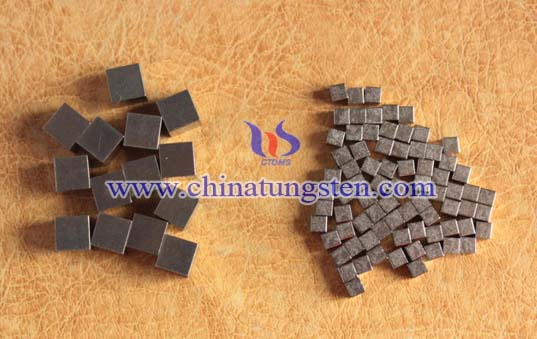 Tungsten Alloy Block for Military Defense Picture